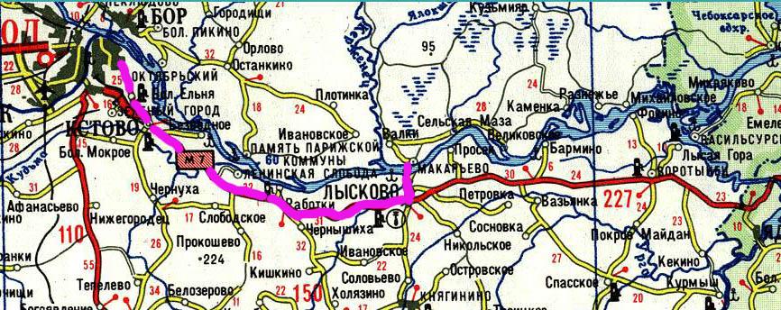Схема проезда Нижний Новгород